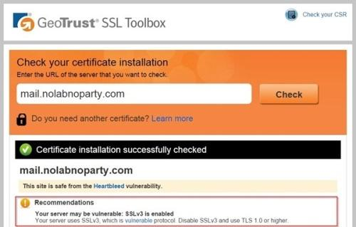 GeoTrust SSL Toolbox